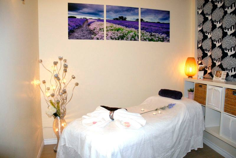 Earth Body Oasis spa room